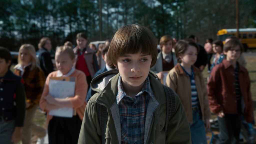 Noah Schnapp es Will en la serie de Netflix 'Stranger things'