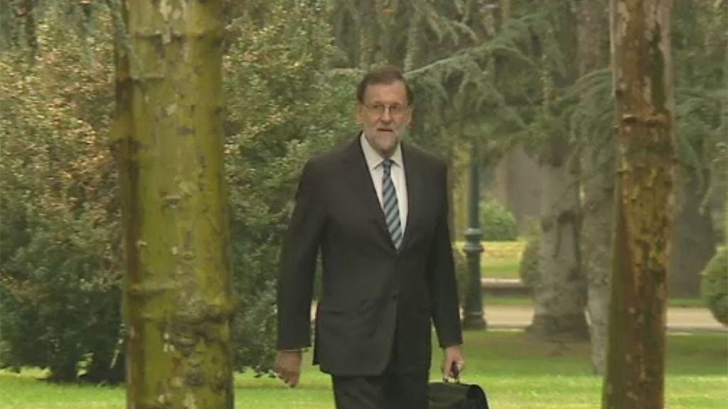 Rajoy asegura que no hay limitación en el tiempo para aplicar medidas tras el 155