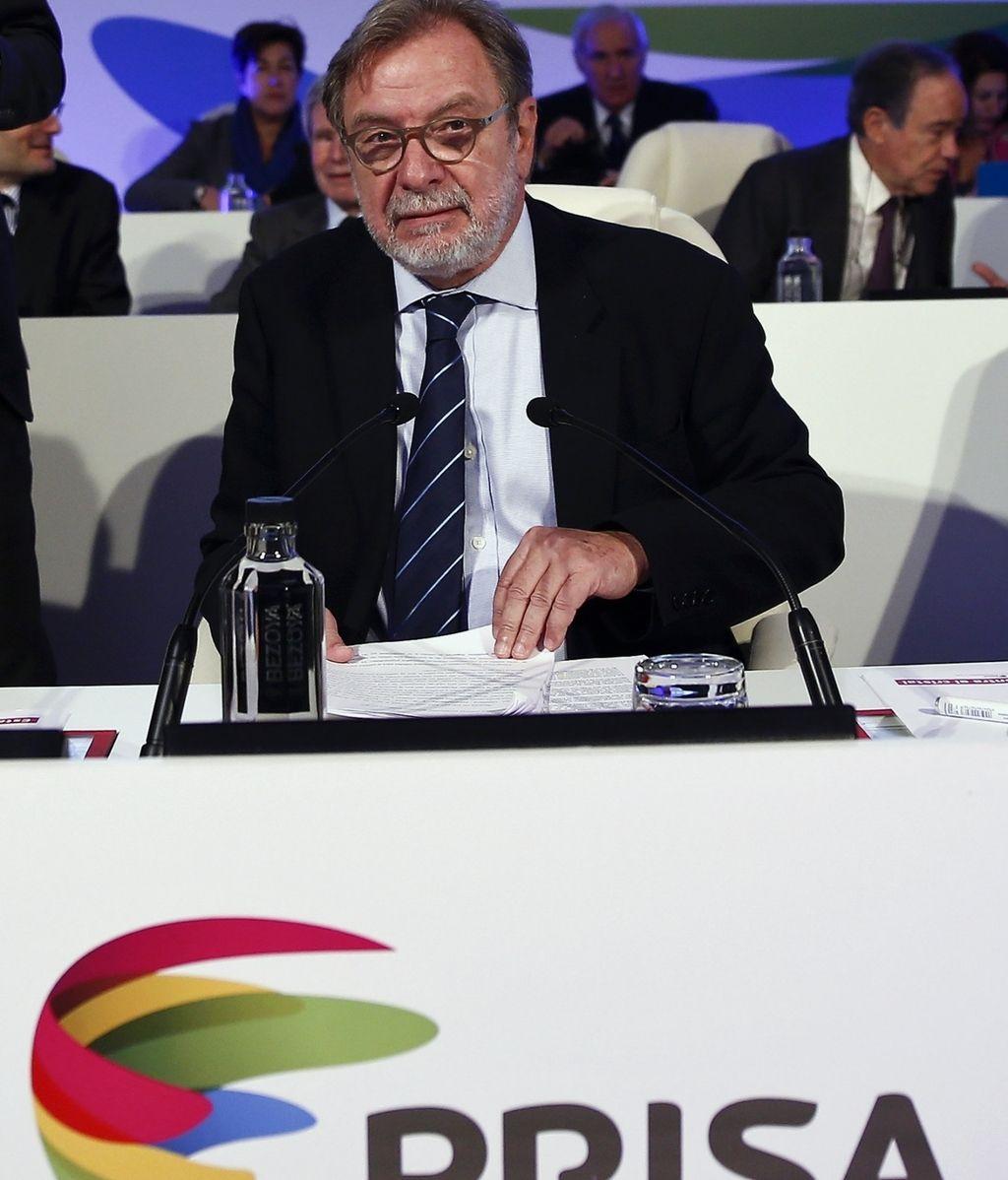 Juan Luis Cebrián, presidente de Prisa