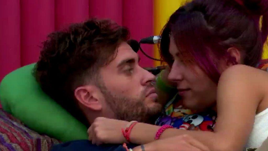 INÉDITO: Lo que nunca se vio del primer beso de Bea y Rodri en la casa de GH17 (1/3)