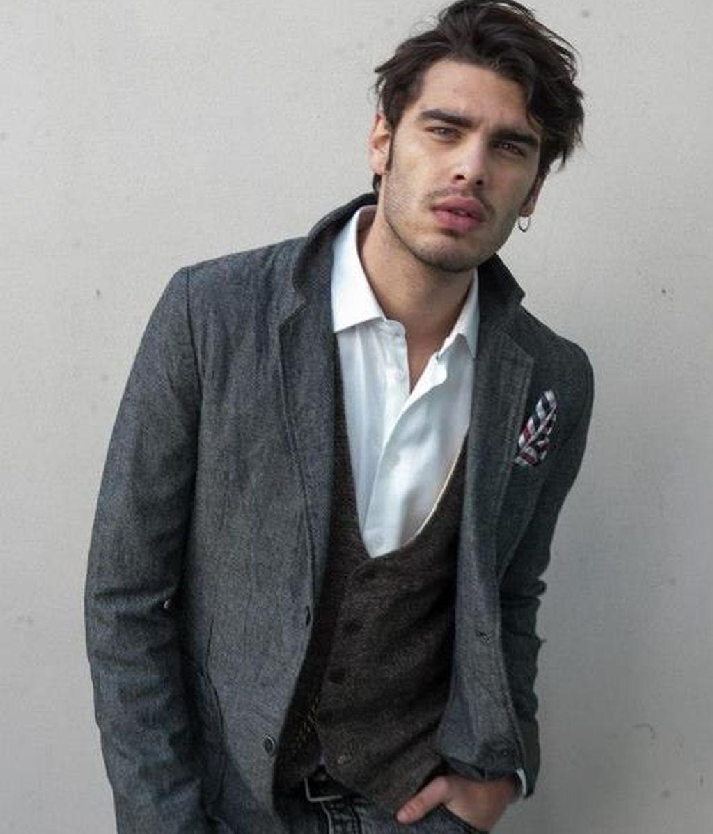 El modelo italiano Stefano Sala