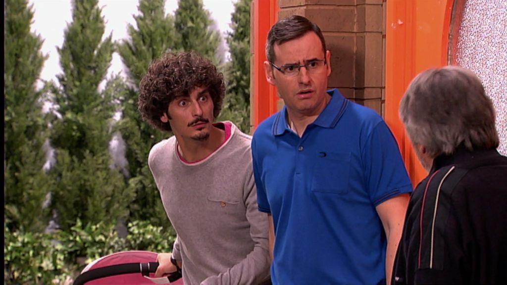 """Antonio Pagudo, sobre su paternidad en la serie: """"En el cole a mi hijo le dicen que tiene una hermana"""""""