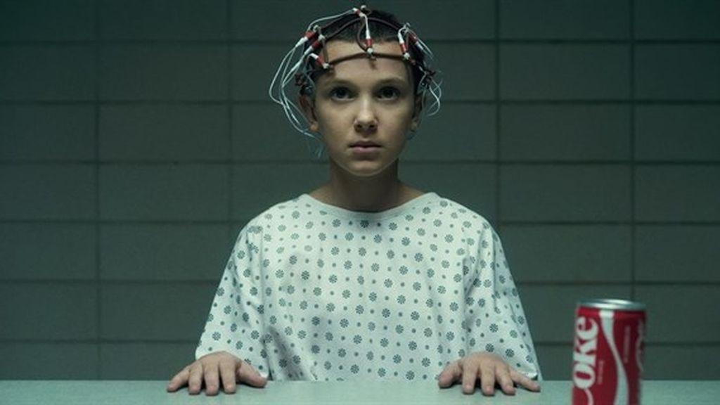 Millie Bobby Brown es Eleven en 'Stranger things'