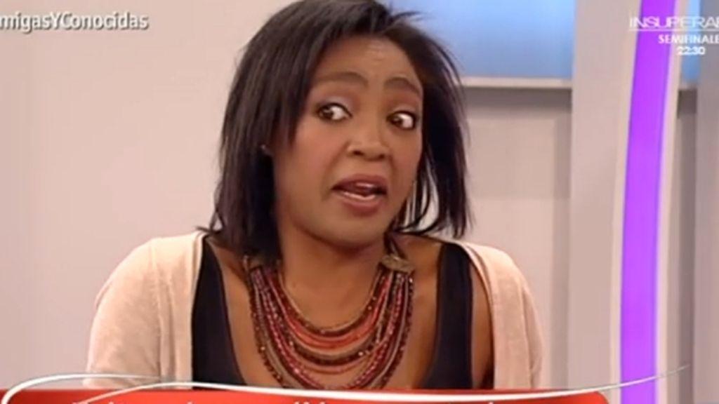 La periodista Francine Gálvez en 'Amigas y conocidas', programa de La 1
