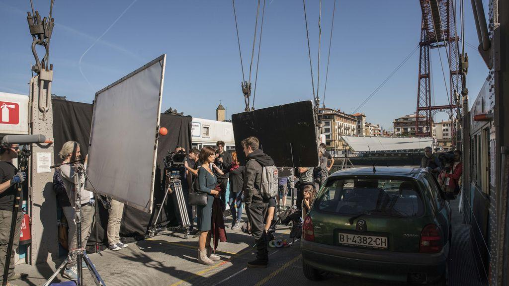 Primeras imágenes del rodaje de 'Ola de crímenes', película de Telecinco Cinema