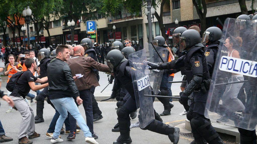 La Consejería de Salud eleva a 1.066 los atendidos por las cargas policiales del referéndum