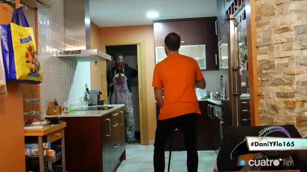 'Sangre en la cocina', ganador del campeonato de sustos 'edición Halloween'