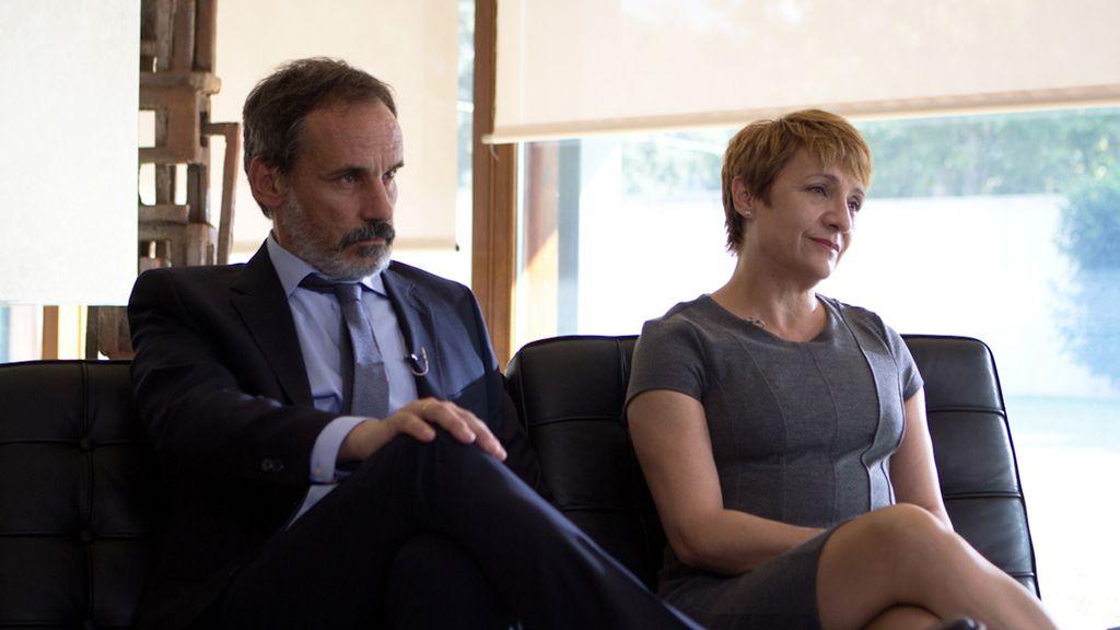 Francesc Garrido y Blanca Portillo, protagonistas de 'Sé quién eres'