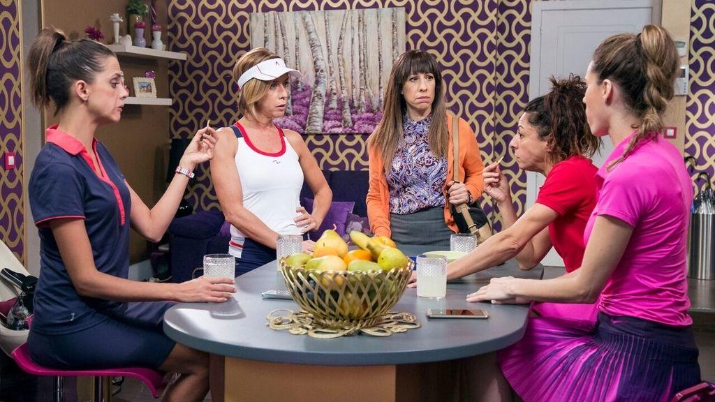 Imágenes del segundo capítulo de la décima temporada de 'La que se avecina', serie emitida por Telecinco
