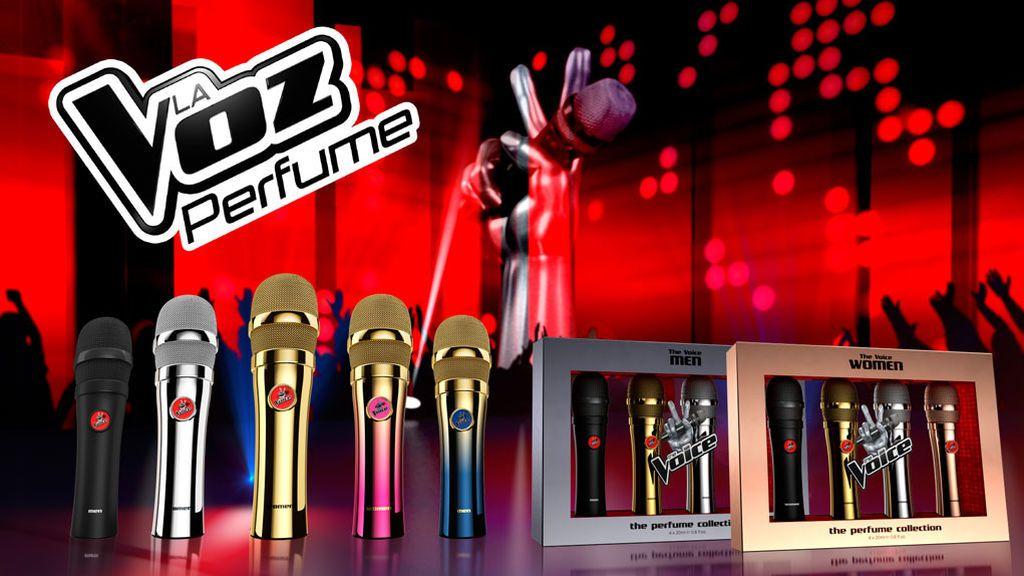 ¡Ya están aquí los perfumes de La Voz!