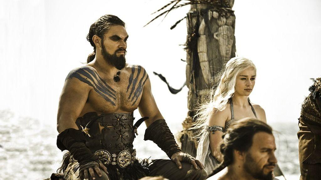 Jason Momoa es Khal Drogo en la serie de HBO 'Juego de tronos'