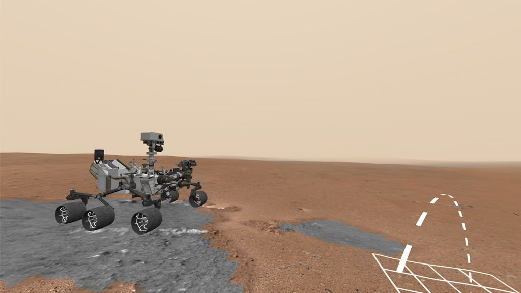 'Pasear' por Marte junto al rover Curiosity ya es posible y es gratuito