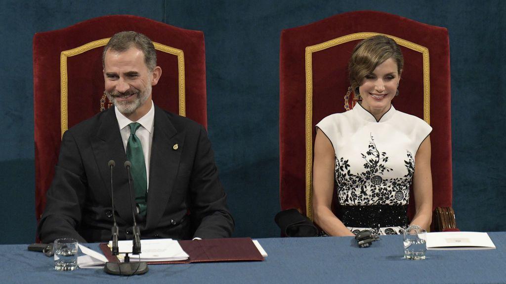 El rey ha hablado en los princesa de Asturias sobre el valor del rugby en los jóvenes