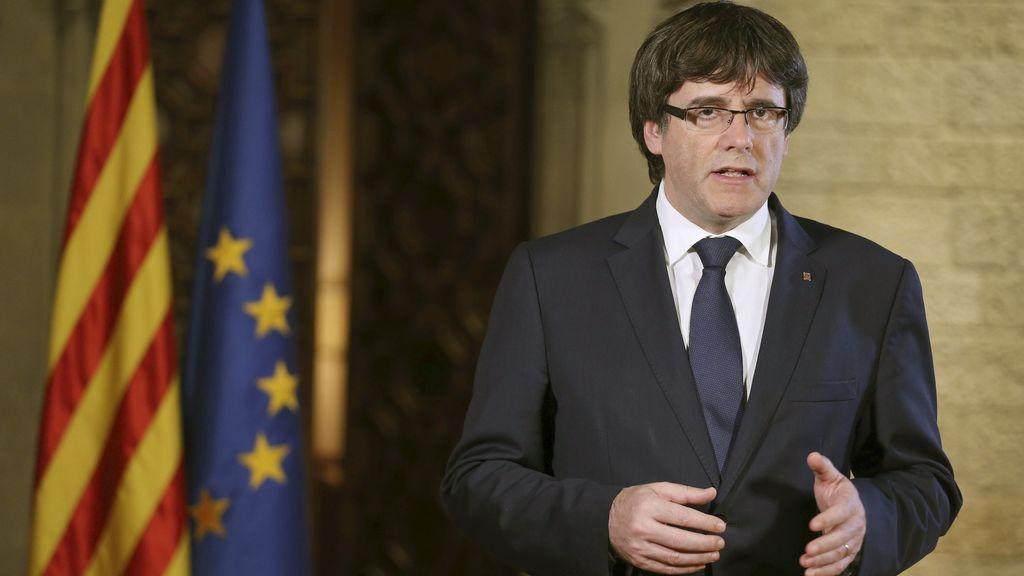 """Puigdemont: """"Lo que los catalanes decidieron en las urnas, el Gobierno español lo anula en los despachos"""""""