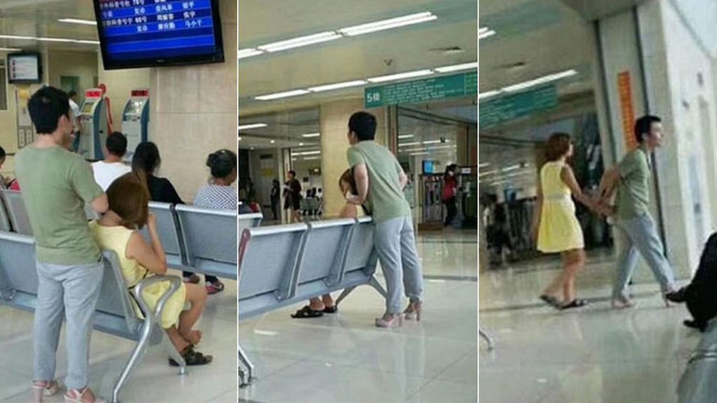 Adivina qué hizo este hombre para que a su pareja no le dolieran los pies