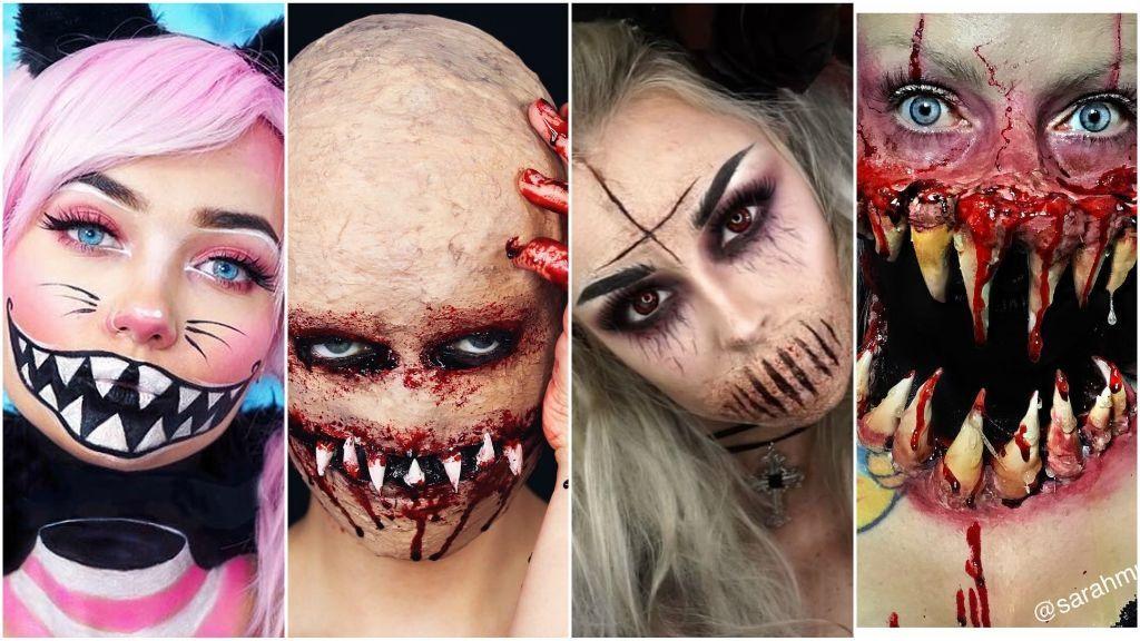 Morimos de miedo:  Los tutoriales de maquillaje más Gore que podrás lucir este Halloween