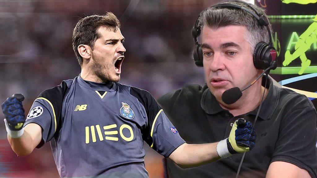 """¿Es irreversible la situación de Casillas en el Oporto? """"No descartaría que saliese en diciembre"""""""