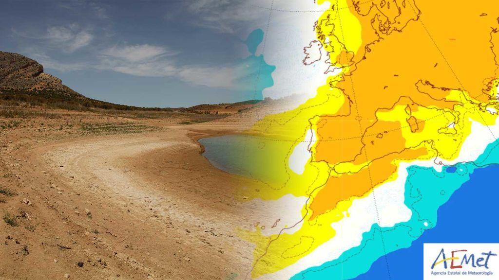 Bloqueo anticiclónico: ¿de verdad no va a llover hasta noviembre?
