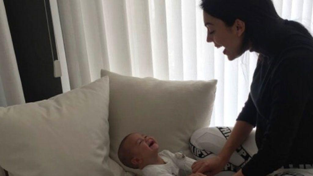 Me llamo Mateo Ronaldo y me parto de risa con 'mamá' Georgina
