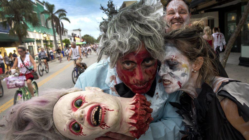 Desfile de 'Fantasy Fest 2017' en Florida
