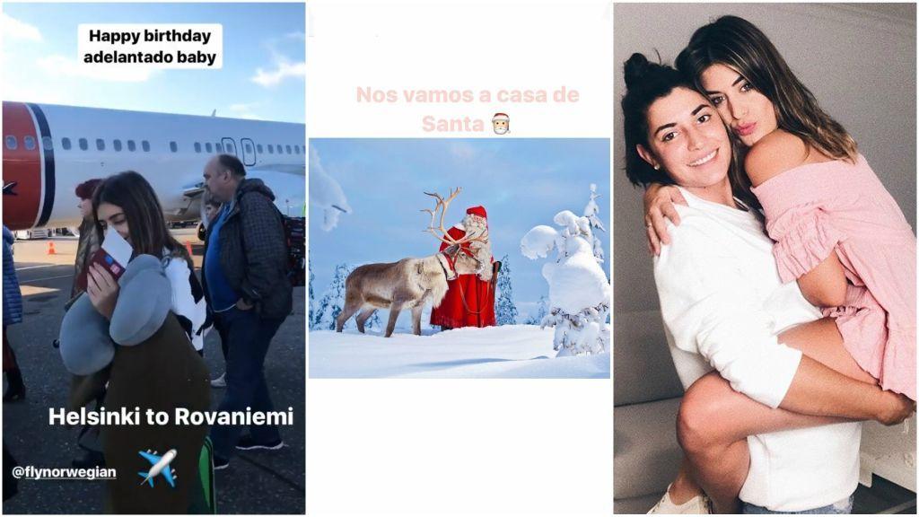 Santa Claus, aurora boreal y mucho ❤️: así está siendo el cumpleaños de Dulceida en Laponia