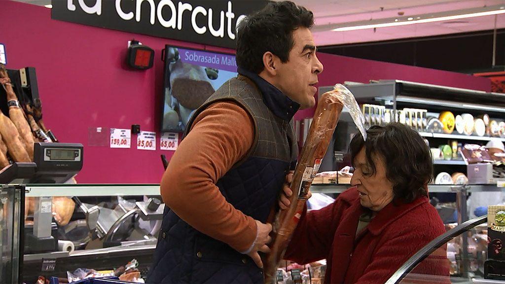 Así ha sido la compra más excitante de Amador y Doña Fina en el súper