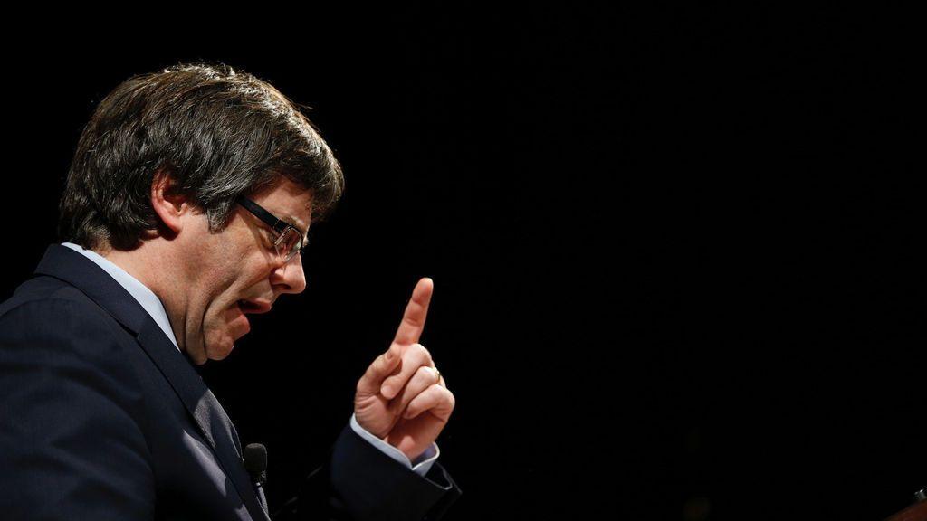 Puigdemont estudia comparecer en el Senado en el debate sobre el 155
