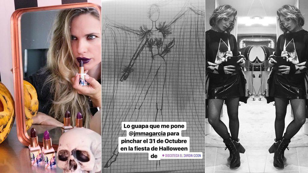 Vanesa Romero,  Lucía Rivera o las 101 ideas de Vanessa Hudgens, ¿tienes disfraz para Halloween?