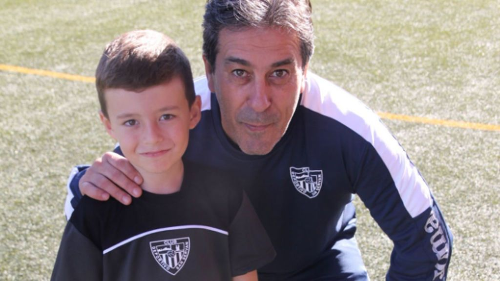 Paquito, el entrenador con tan solo 8 años que sueña con parecerse a Zidane