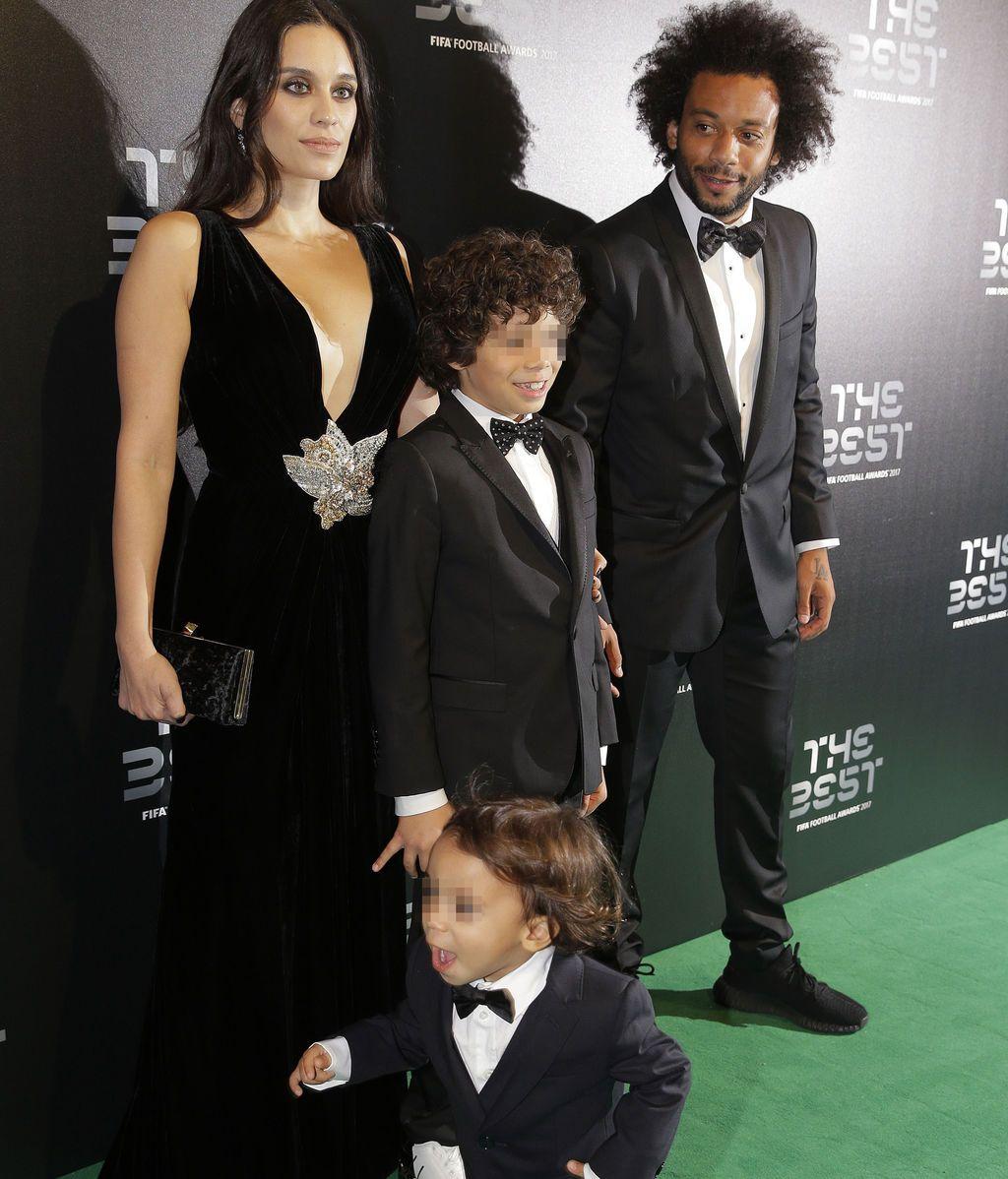 Cristiano, Georgina, Pilar Rubio... La intrahistoria de la gala The Best, en fotos