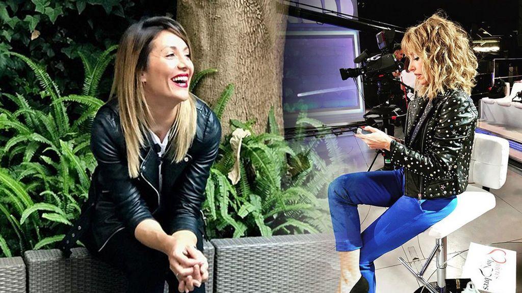 ¡Fuera de cámaras! El momento más divertido entre Emma García y Nagore Robles
