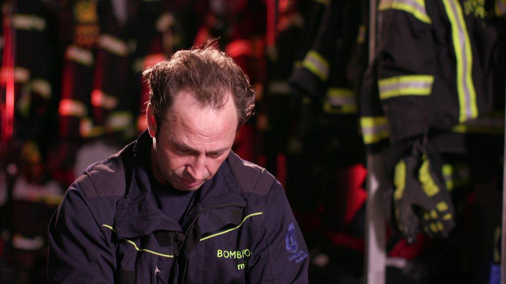 Los dolorosos recuerdos de un bombero que vivió el 11-M