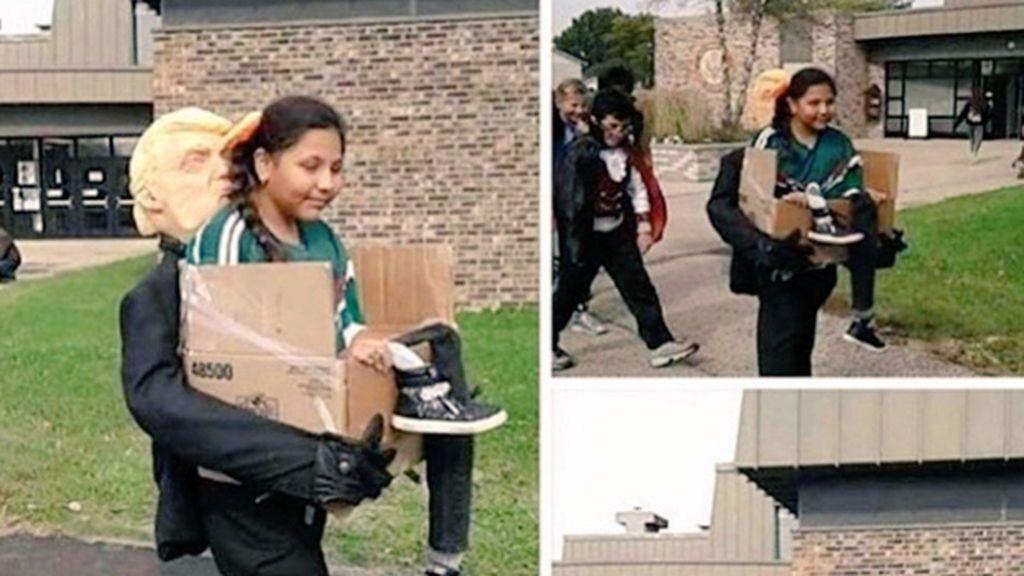 El disfraz de una niña mexicana que arrasa en todas las fiestas