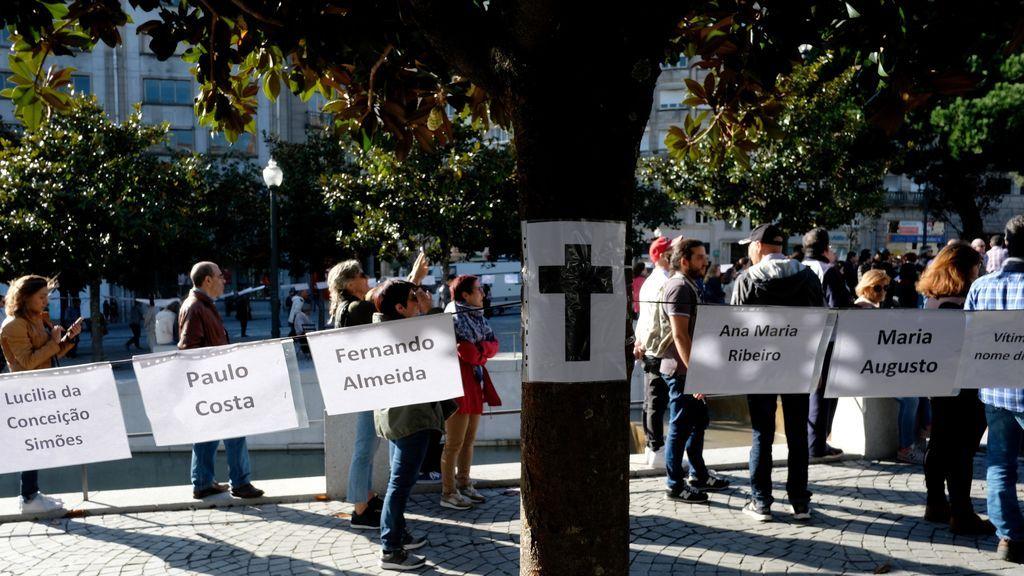 Sube a 45 la cifra de muertos por la última ola de incendios en Portugal