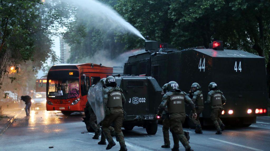 Protesta en Chile por la muerte de Santiago Maldonado
