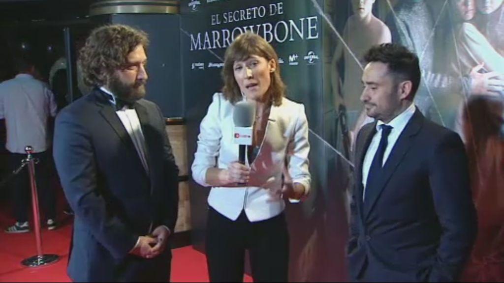Puesta de largo de 'El Secreto de Marrowbone', la última producción de Telecinco Cinema