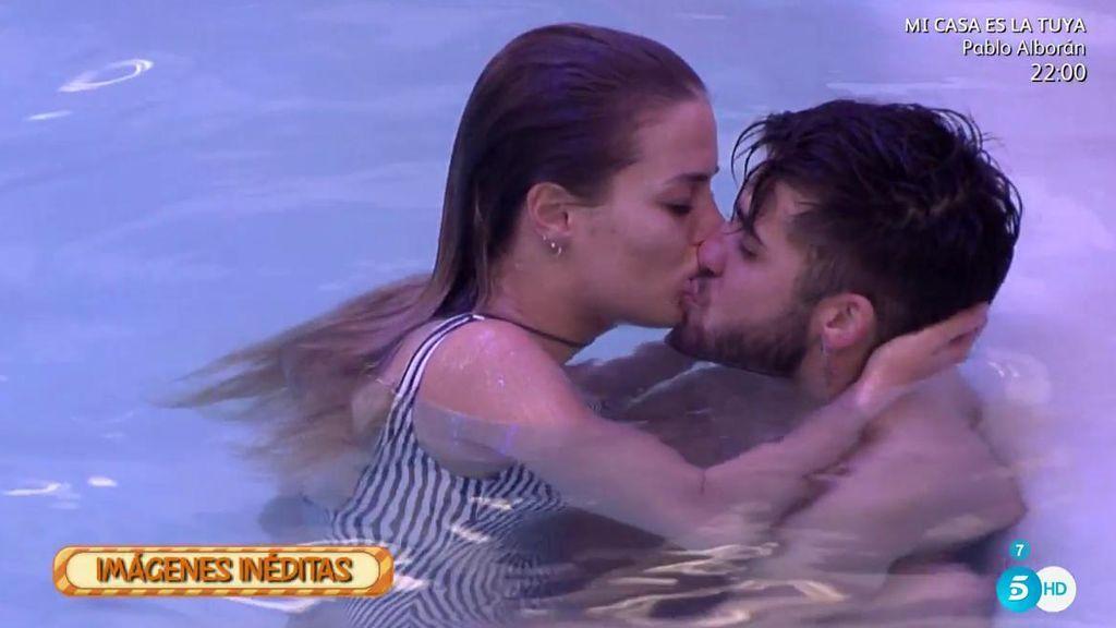 Imágenes Inéditas de 'GH Revolution': Los besos de Alyson y Rubén en la piscina