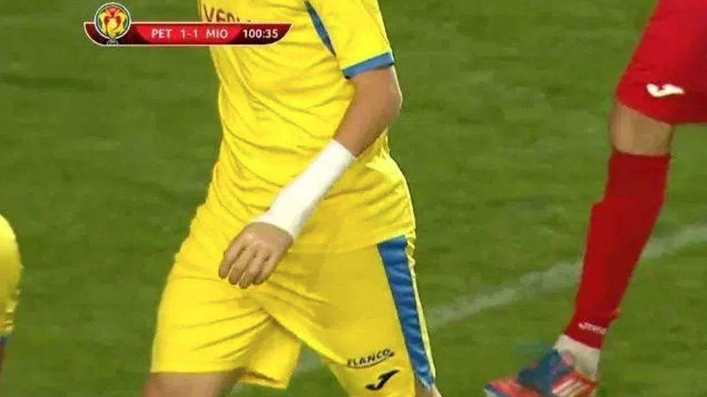 Perdió la mano izquierda, pero nada le detuvo: Cosmin Lambru debutó en la Copa de Rumanía