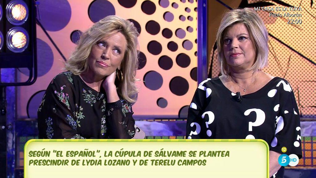 Vota: ¿Quieres que Lydia Lozano y Terelu se queden como colaboradoras de 'Sálvame'?