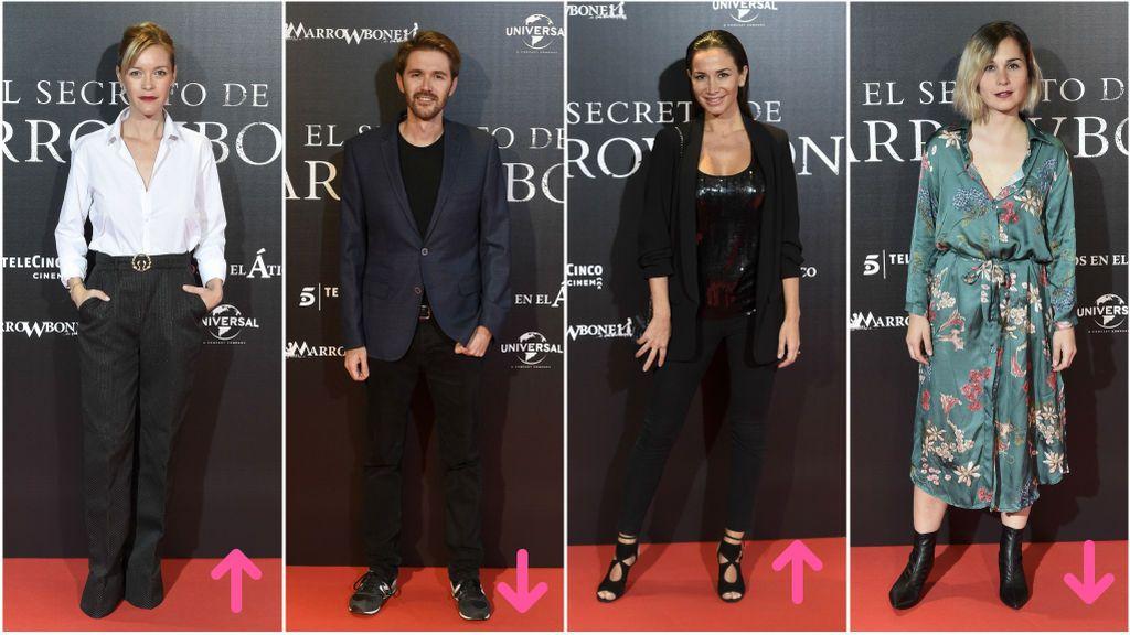 Aciertos y errores en la alfombra roja  de la película de 'El secreto de Marrowbone'