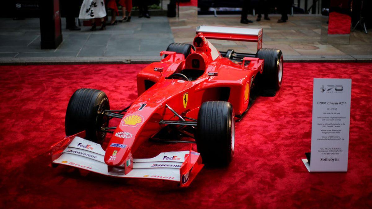 Subastan uno de los increíbles Ferraris de Michael Schumacher y este es su precio