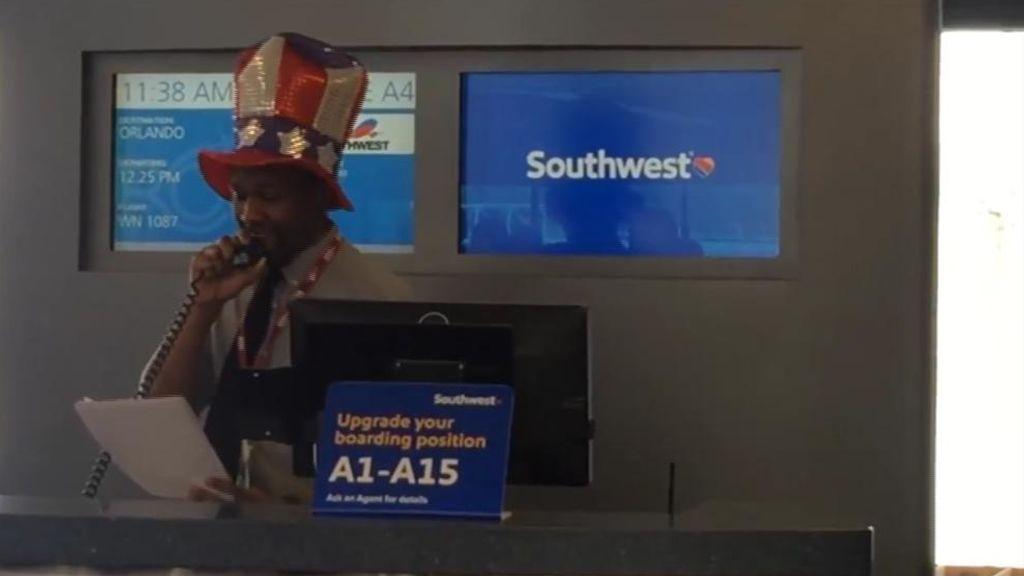 Comunicando buen rollo en el aeropuerto