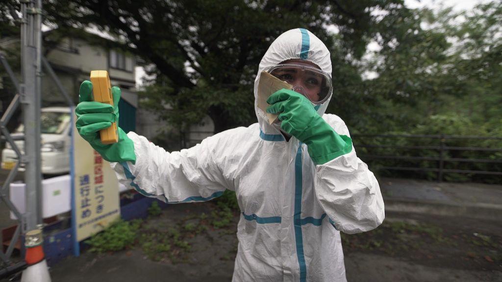 Entramos en la central de Fukushima, uno de los lugares con más radioactividad del planeta
