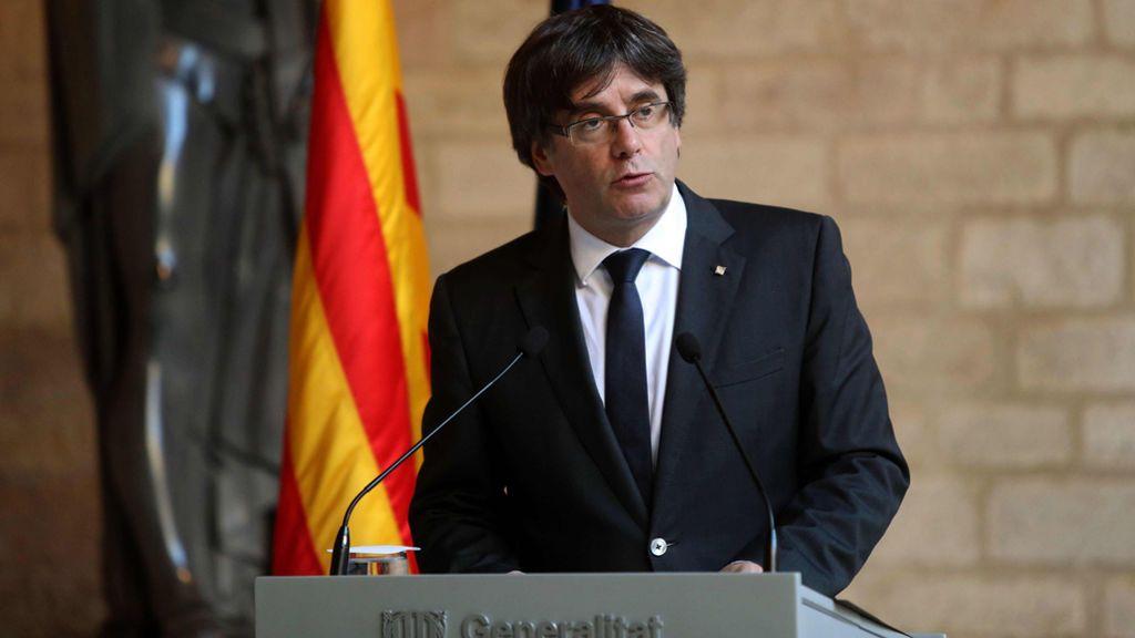 Puigdemont no convoca elecciones: la comparecencia íntegra