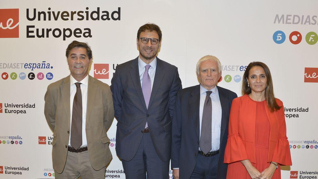 Paolo Vasile en la presentación del Máster en Creación y Gestión de Contenidos Audiovisuales-Mediaset España