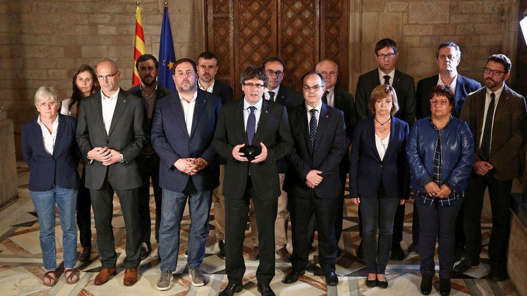 Los consejeros de ERC saldrían del Gobierno catalán si Puigdemont anunciara elecciones