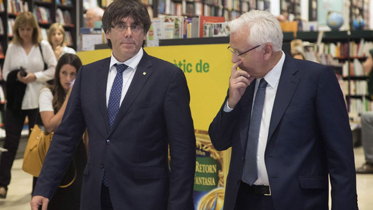 El Senado recibe las alegaciones del Puigdemont al 155
