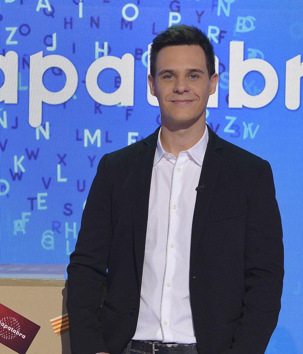Christian Gálvez, presentador del concurso de Telecinco 'Pasapalabra'