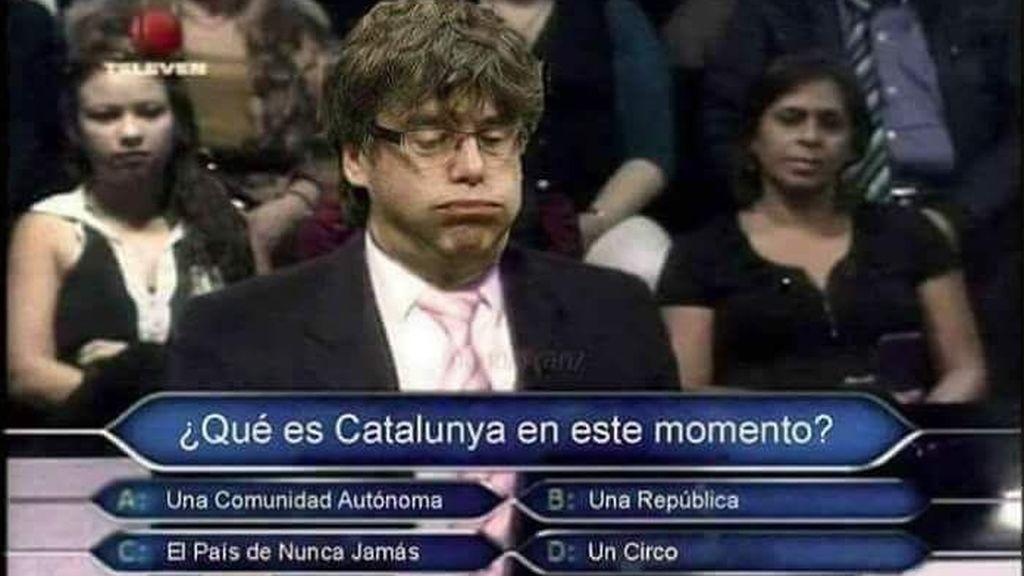 Los mejores memes de la posible convocatoria de elecciones por parte de Puigdemont
