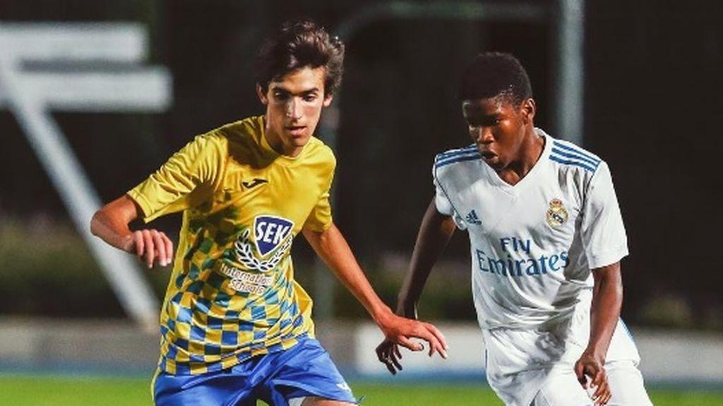 Se enfrentó la Real Madrid, pero tiene muy claro dónde quiere llegar: el mensaje motivacional del hijo de Raúl